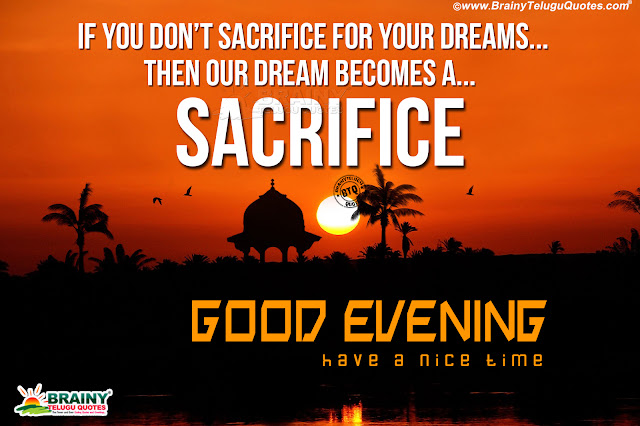 Good Evening Quotes In English Goal Reaching Inspirational Words In