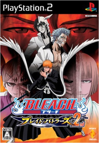 Bleach Blade Battlers 2nd NTSC PS2