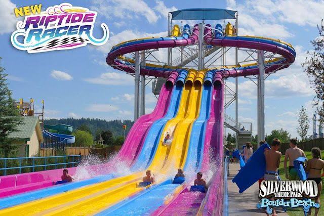 Silverwood Theme Park Boulder Beach Water One Admission Price Both Parks