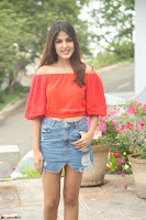 Rhea Chakraborty in Red Crop Top and Denim Shorts Spicy Pics ~  Exclusive 266.JPG