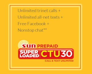 CTU30 – Sun Cellular's Unlimited Tri-net Calls, All-Net and Free FB