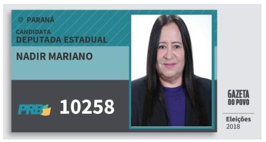 Roncador tem candidata a deputada estadual
