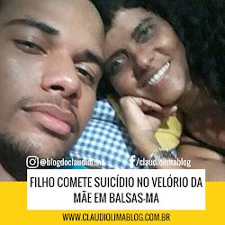 Filho comete suicídio no velório da mãe em balsas-MA