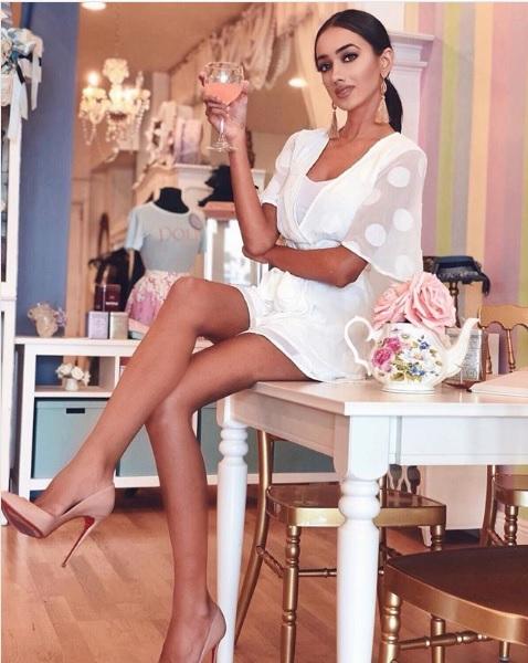 Miss Pakistan World Ramina Ashfaque