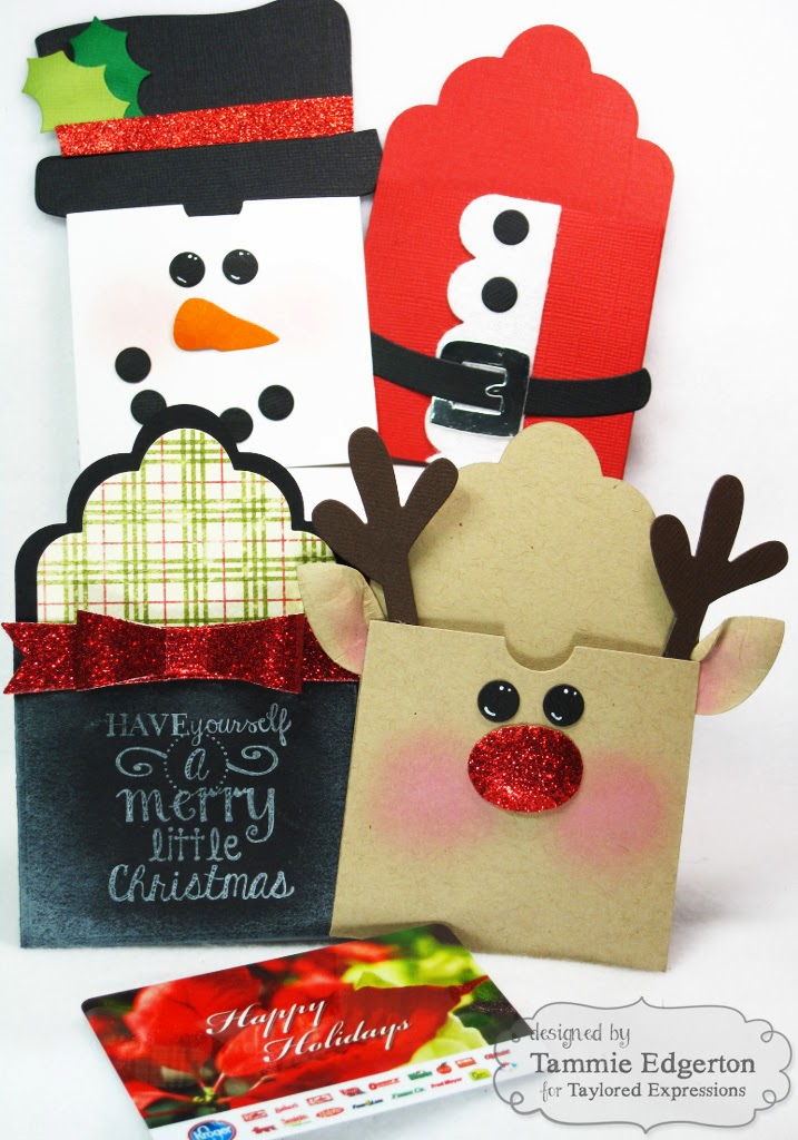 One Happy Stamper...: GIFT CARD HOLDERS
