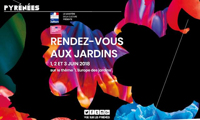 Rendez-vous aux jardins Pyrénées 2018