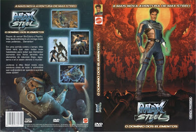 Max Steel O Domínio dos Elementos