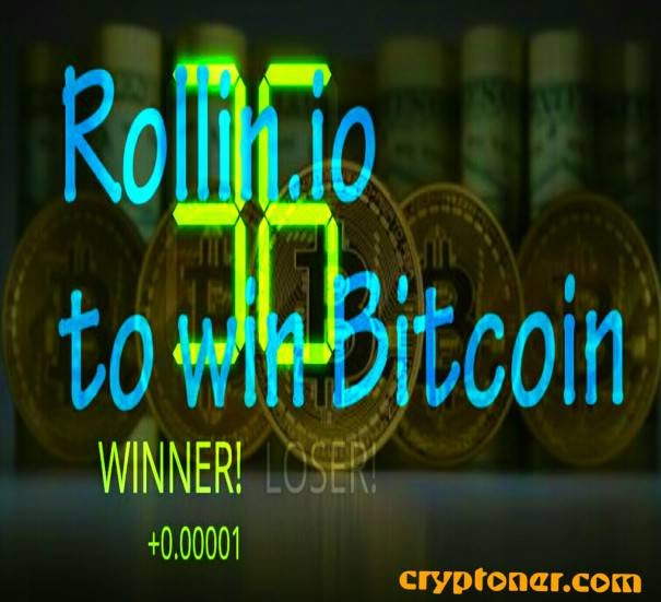 Rollin.io : Review,  A fun way to earn Bitcoins