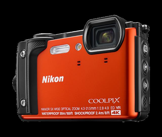 Nikon Coolpix W300, оранжевый