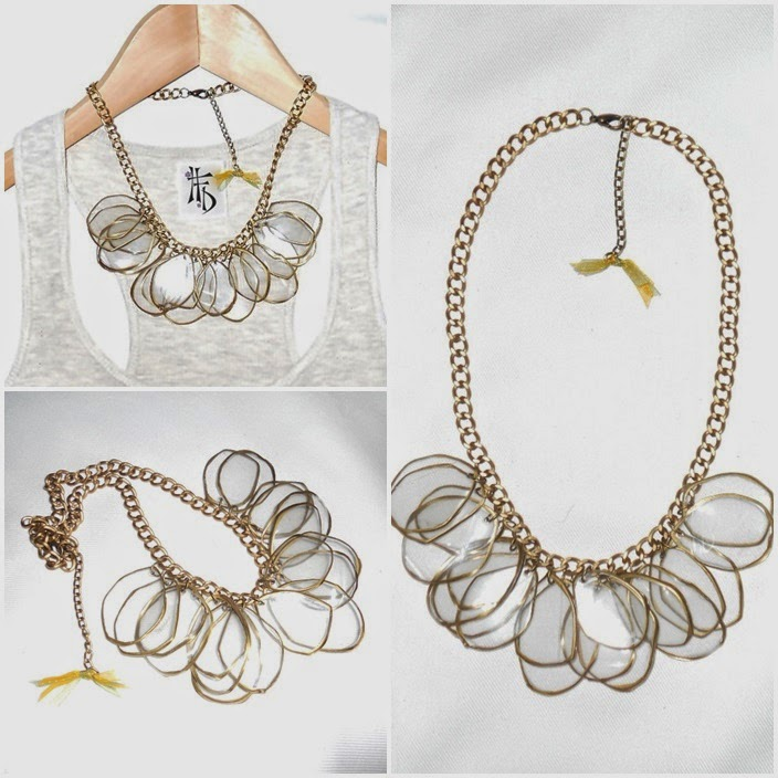 RECY. Collares reciclados / Recycled necklaces