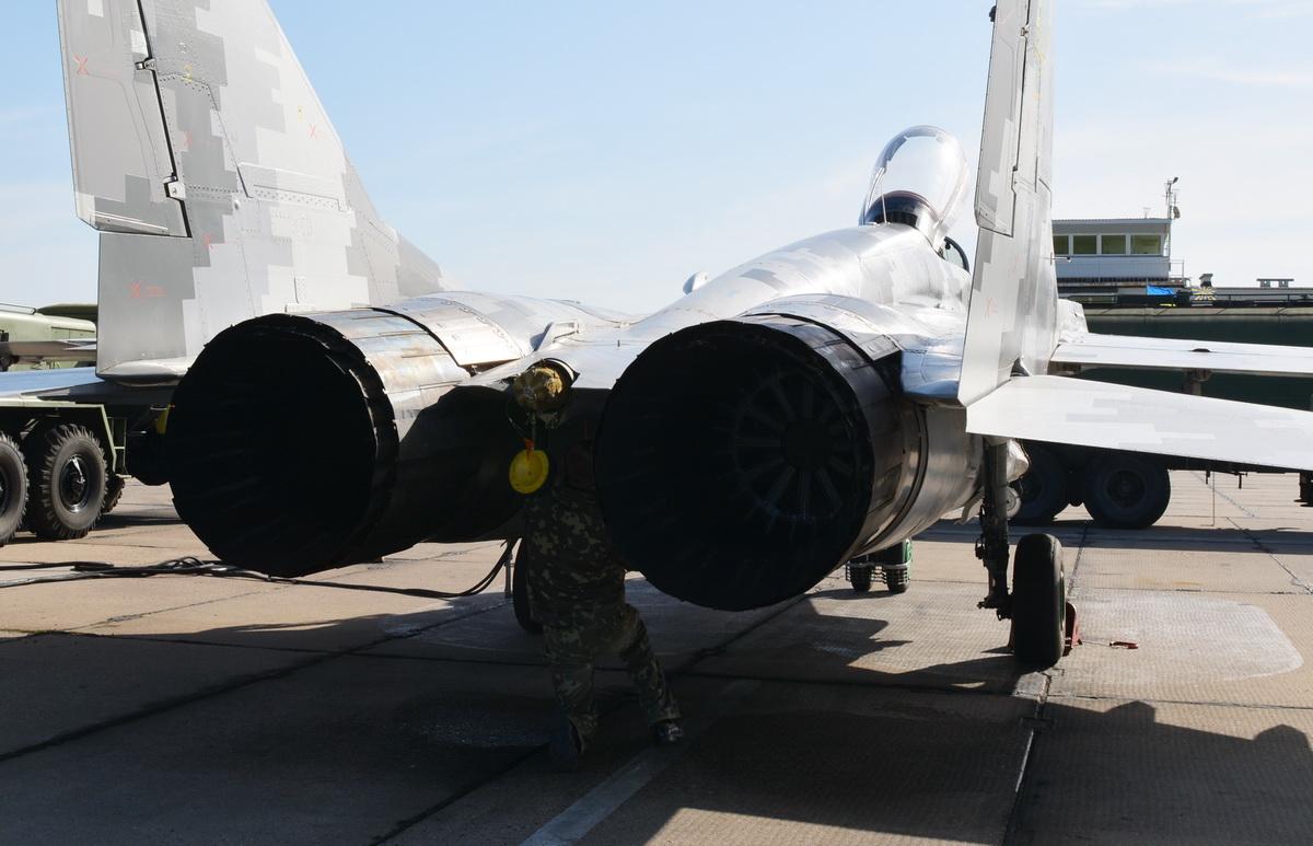 Командирські польоти на винищувачах МіГ-29 та літаках Л-39