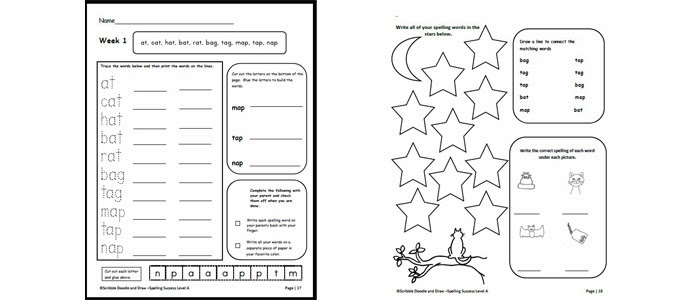 Get an entire year of easy to use spelling activities for
