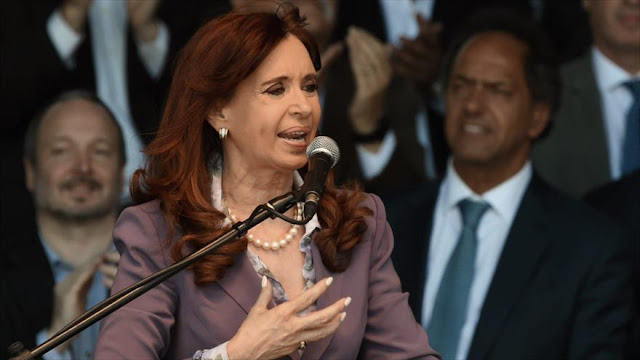 CFK tacha de montaje mediático proceso judicial en su contra
