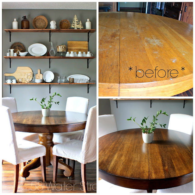 furniture makeover, furniture restoration, antique, table, staining furniture