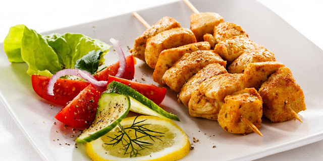 Shish Taouk / Chicken Kebabs Recipee