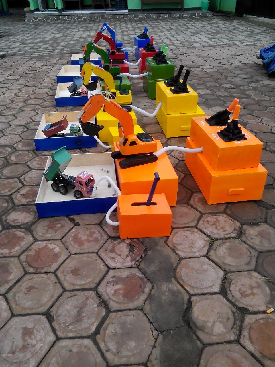Jual Mainan Excavator Mini Murah