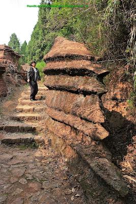 Karst, Red Stone Forest National Geological Park, Hunan, China