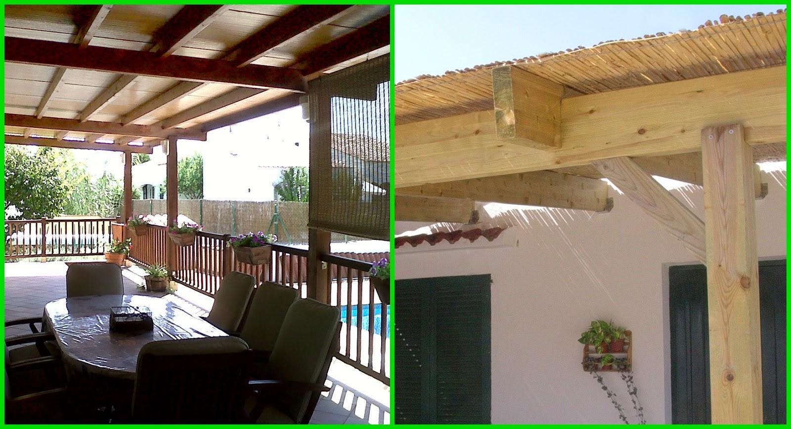 Construtot ideas para sombrear la terraza y el jard n - Trepadoras para pergolas ...