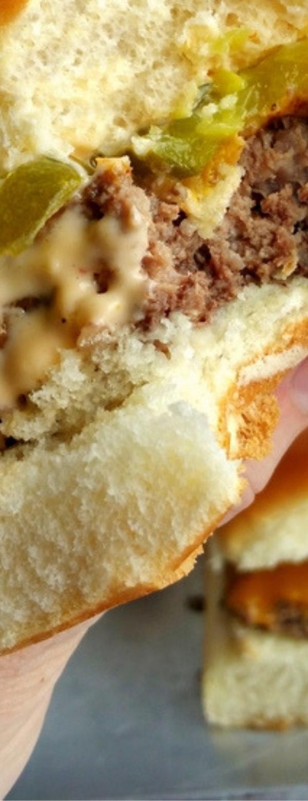 Sheet Pan Sliders with Copykat Big Mac Sauce #BIGMAC #COPYCAT #DINNER
