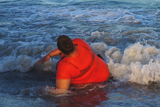sea, photography, travel, contemporary, Spain, outdoor swimming, ocean, Sam Freek,