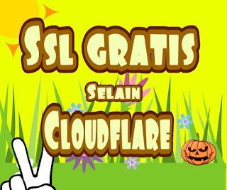 Ssl gratis selain cloudflare