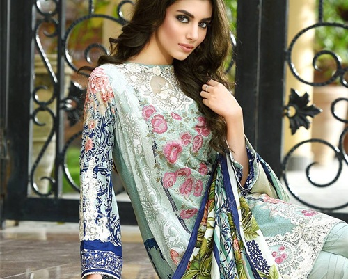 db705ffa8d Firdous Embroidered Lawn 2016 | Embroidered Exclusive Catalog 2016 |  She-Styles | Pakistani Designer Dresses - Fashion Weeks - Lawn Collection