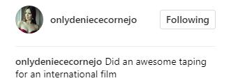 Makes Sense! Deniece Cornejo Allegedly Using Vhong Navarro For Her Upcoming Movie Publicity