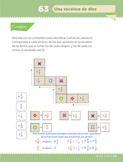 Respuestas Apoyo Primaria Desafíos Matemáticos 5to Grado Bloque IV Lección 62 Una escalera de diez