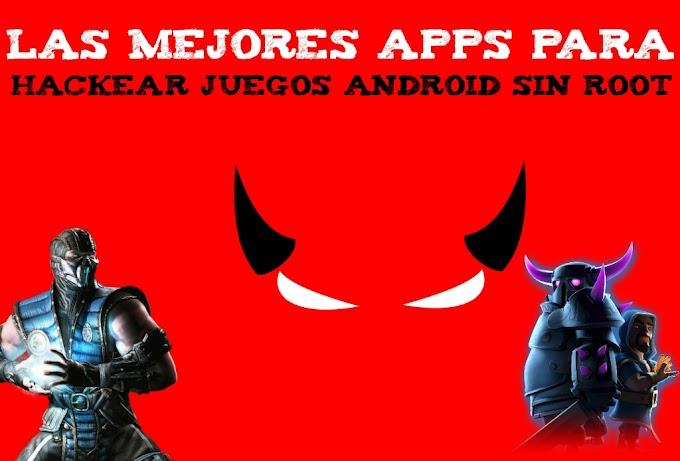 Las mejores apps para hackear Juegos Android sin root