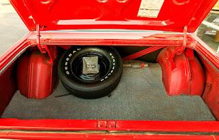 1972 Plymouth Satellite Sebring 318 Baggage
