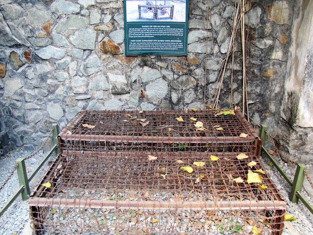 tiger cages war remnants museum saigon ho chi minh vietnam