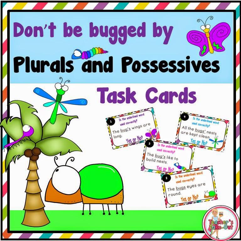 Plural Possessive Task Cards