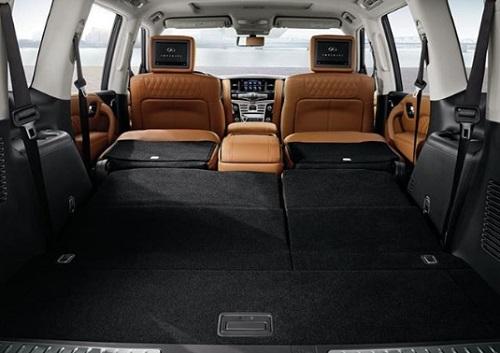 design review spec interior design infiniti QX80