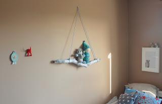 DIY: Estante con una rama.