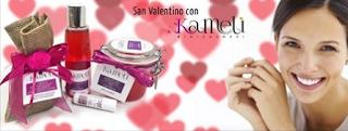 Logo Vinci gratis pacco con prodotti Kameli Bio Cosmesi