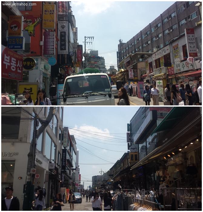 Hongdaen kadut