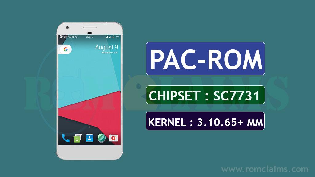 [SPRD] [6.0.1] PAC-ROM MM Rom For SC7731 & SC8830 || Kernel 3.10.65+ MM