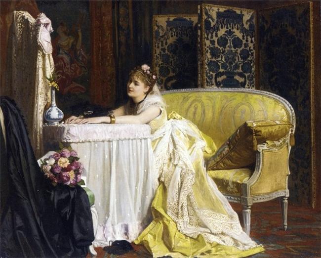Charles Louis Baugniet После бала