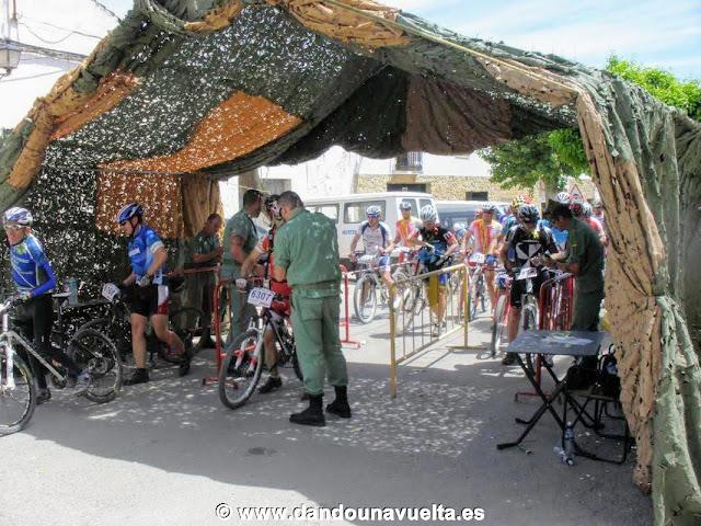101 km La Legión de Ronda, control de sellado