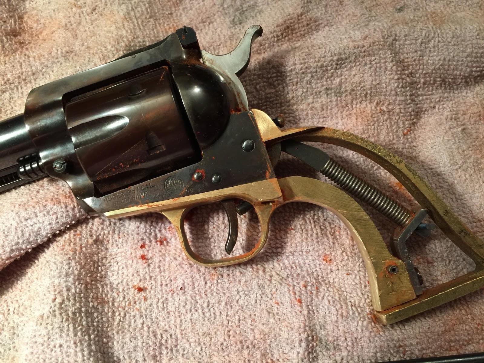 Tincanbandit S Gunsmithing Ruger Old Model Blackhawk
