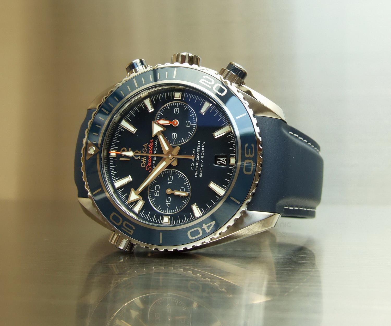 743a2b3c3792 OMEGA Seamaster PLANET OCEAN Titanium Liquidmetal® Chrono Cal.9300 (up  close and personal)