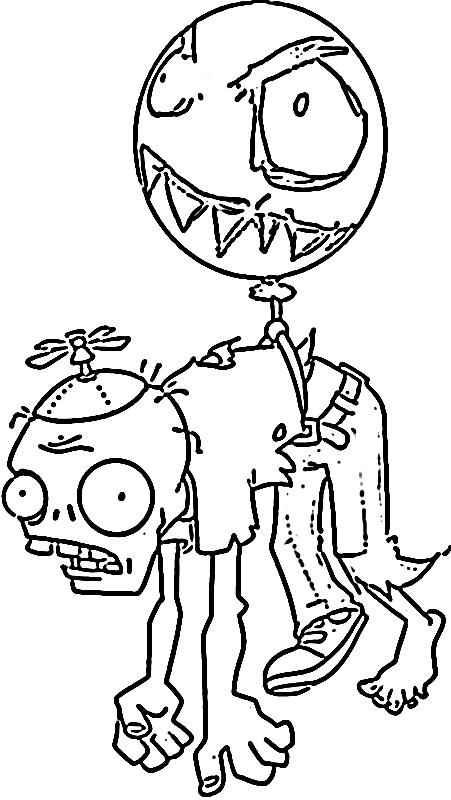 Plants Vs Zombies Coloring Pages Imagui
