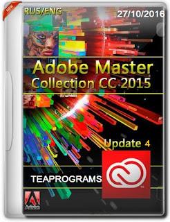 Adobe Master Collection CC 2015 Update 4 แผ่นรวมโปรแกรม Adobe ทั้งหมดล่าสุด[10/2016]