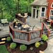 What are some ideas for patio deck designs