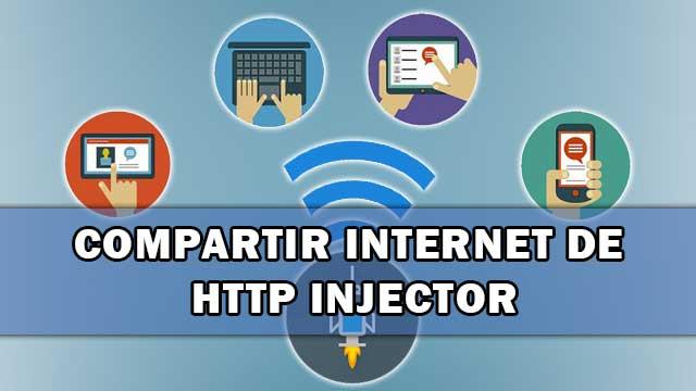 compartir el internet de HTTP Injector a otros dispositivos [ROOT]