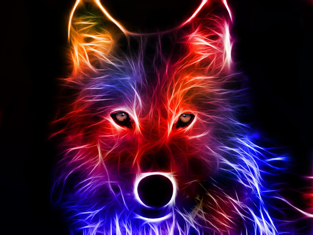 Neon Wallpapers for Android - Neon Fox