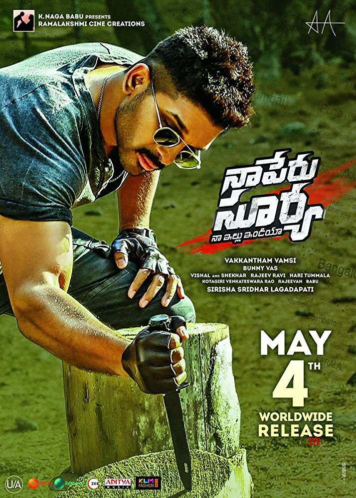 Naa Peru Surya Na Illu India (2018) Hindi Dual Audio 900MB UNCUT HDRip 720p HEVC x265