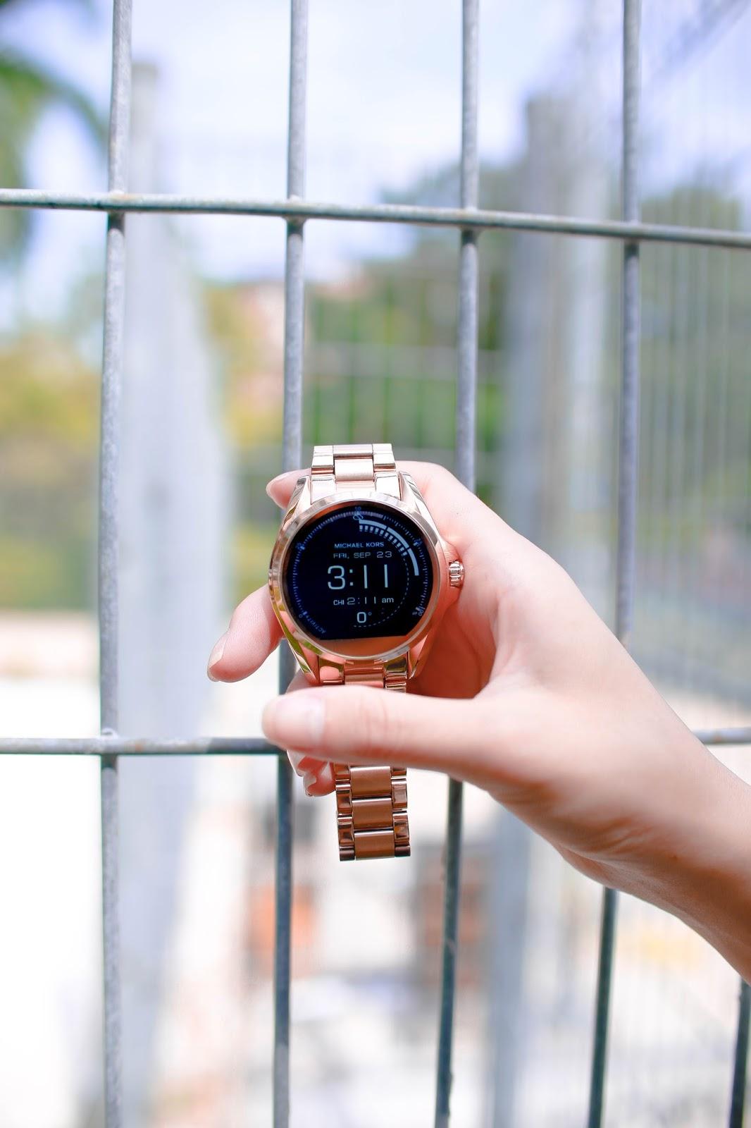 michaelkors, access, smartwatch, google fit, fitness, function,
