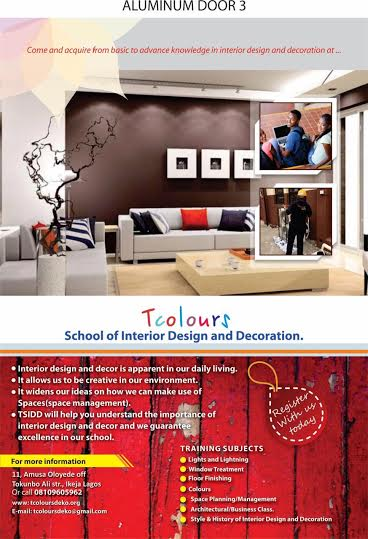 Tcolours School Of Interior Design And Decoration TSIDD