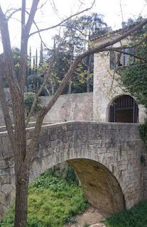 Girona, río Galligants.